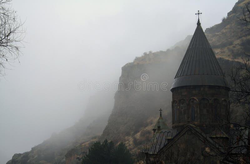 Geghard monaster, monaster dzida, Kotayk prowincja, Armenia zdjęcia royalty free