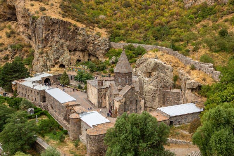 Geghard monaster w Armenia zdjęcie royalty free