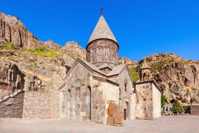 Geghard Monastery, Armenia stock image