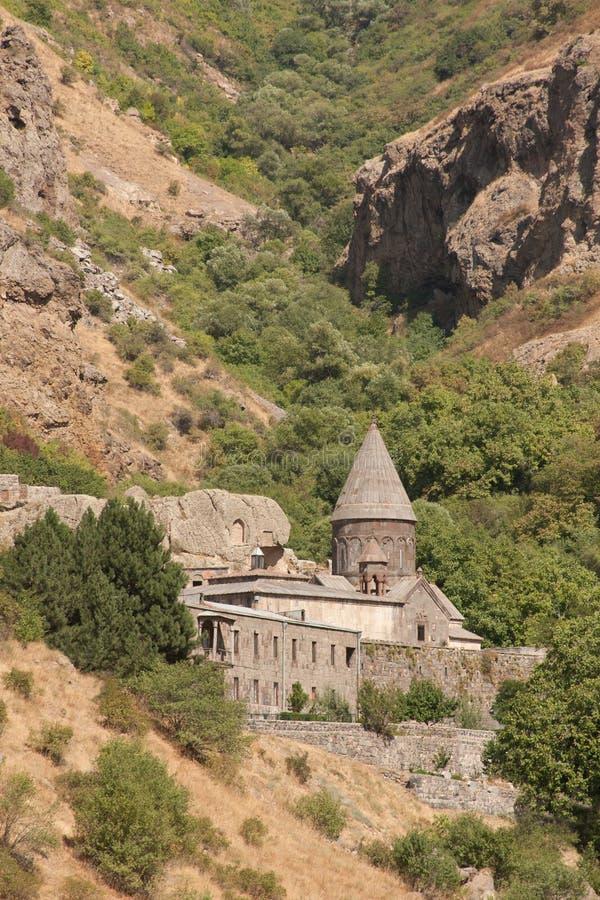 geghard powikłany monastic fotografia royalty free