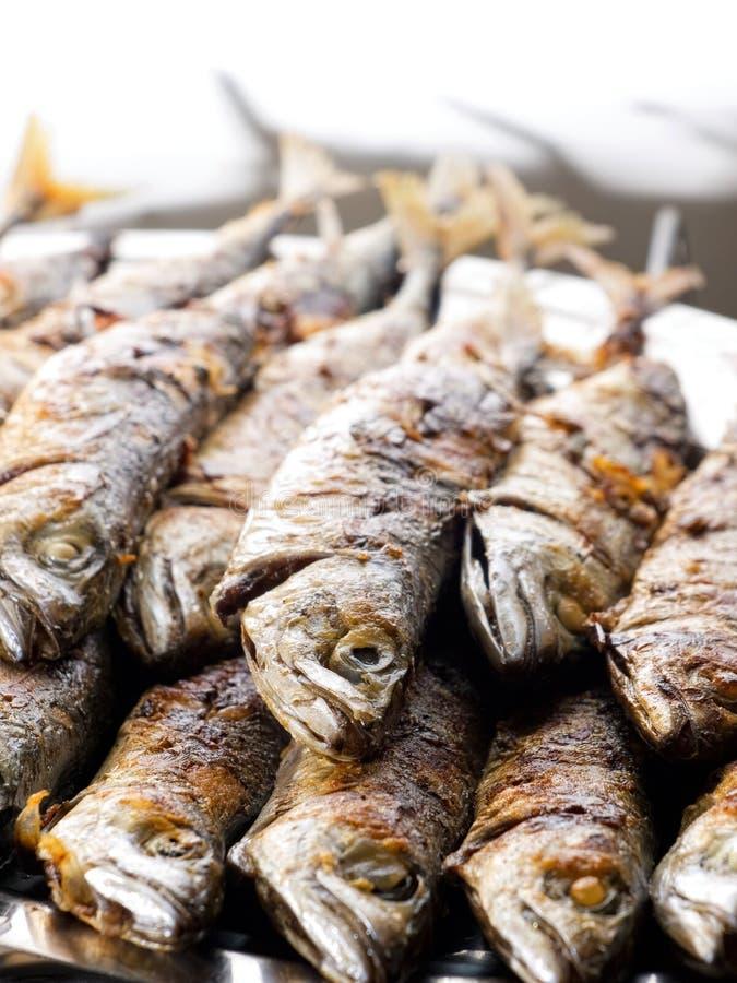 Gegrillte Fische stockfotografie