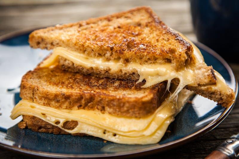 Gegrilltes Käse-Sandwich lizenzfreie stockfotografie