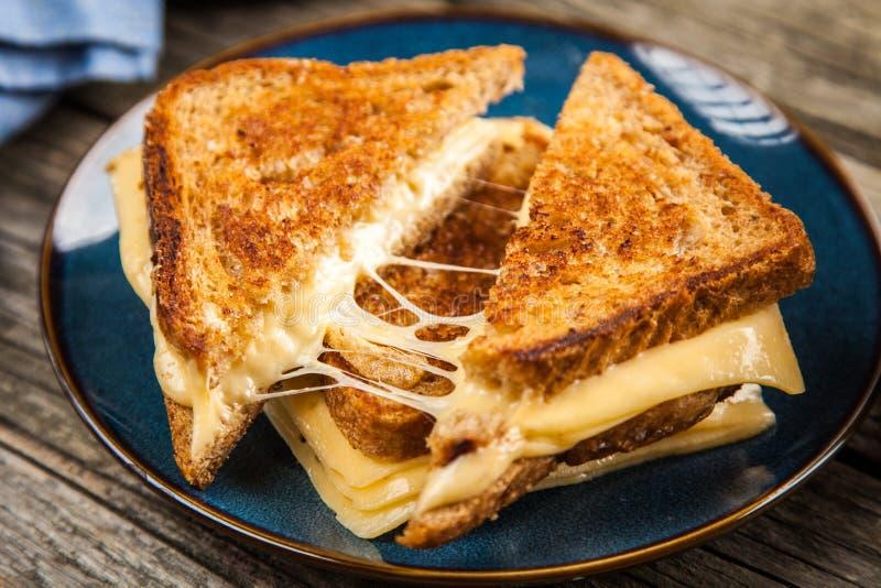 Gegrilltes Käse-Sandwich lizenzfreies stockfoto
