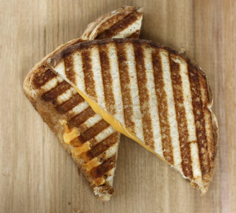 Gegrilltes Käsesandwich von stockfotografie