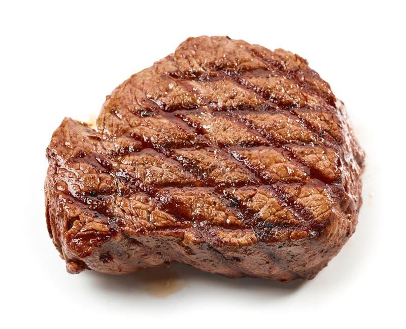 Gegrilltes Rindfleischsteak lizenzfreies stockfoto