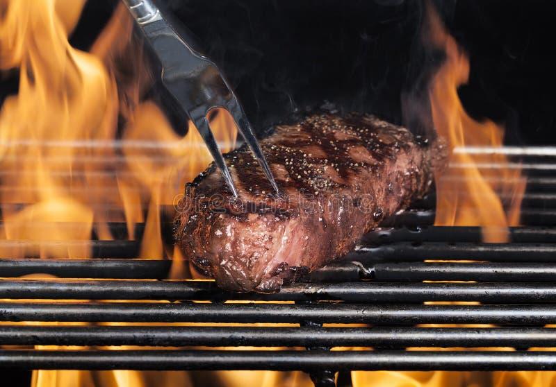 Gegrilltes Steak lizenzfreie stockbilder