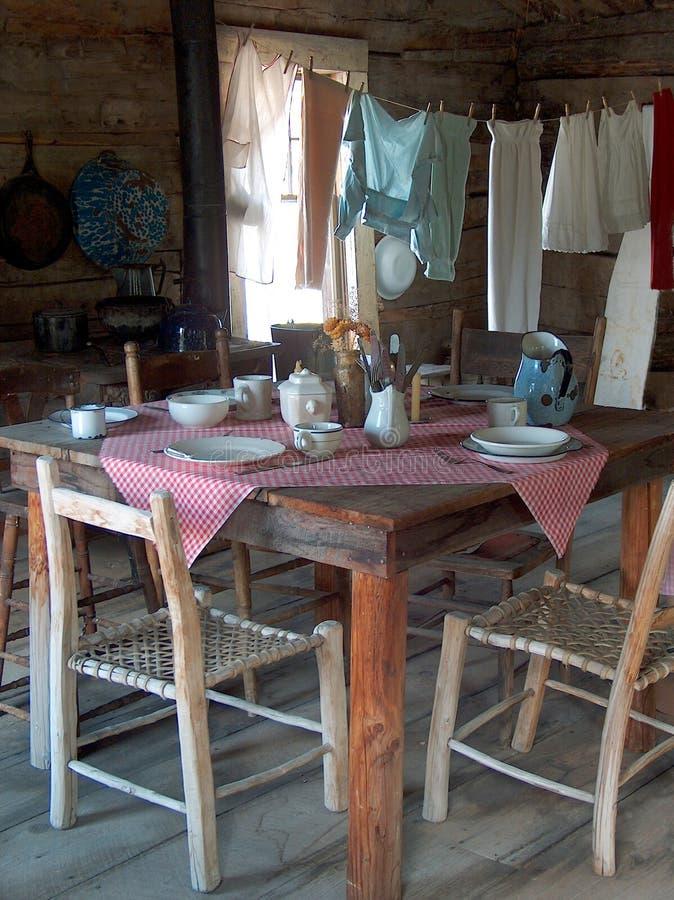 Gehöft-Küche stockbild