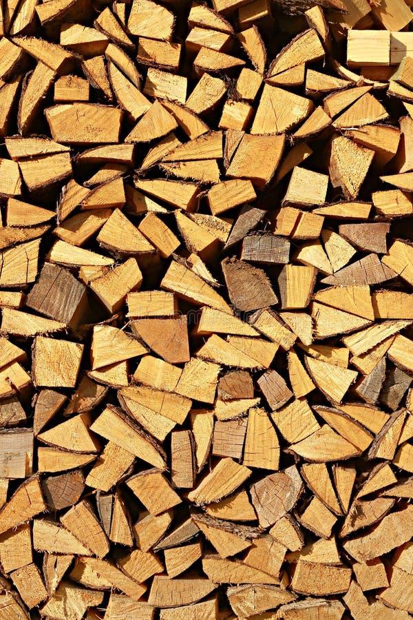 Gehacktes Feuerholz lizenzfreies stockbild