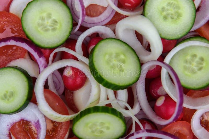 Gehacktes Gemüse stockfotos