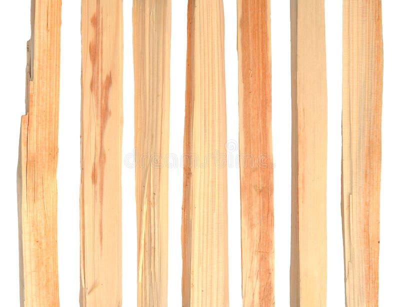 Gehacktes geziertes Brennholz lizenzfreie stockbilder