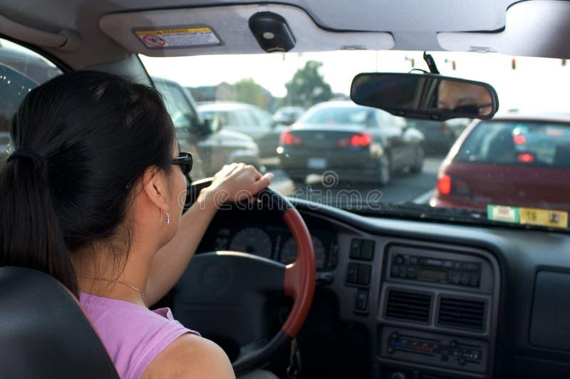 Gehaftet im Verkehr stockfotos
