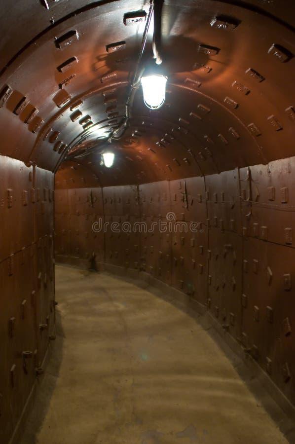 Geheim ondergronds toevluchtsoord royalty-vrije stock afbeelding