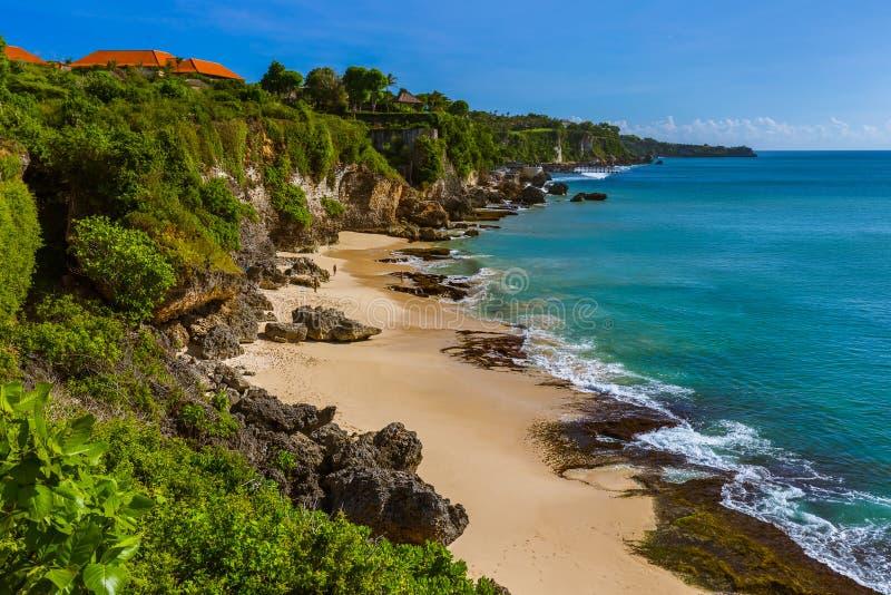 Geheim Strand - Bali Indonesië stock foto