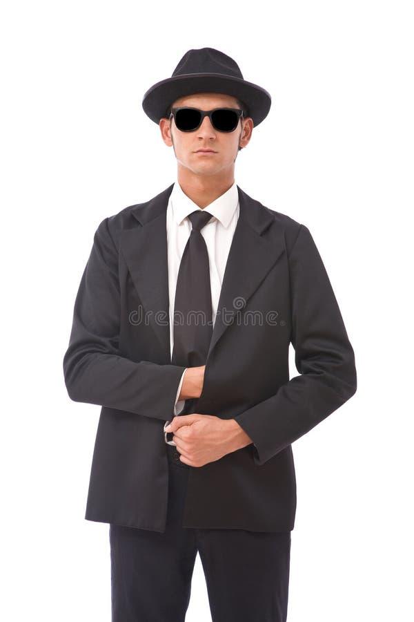 Geheimagent stock afbeeldingen