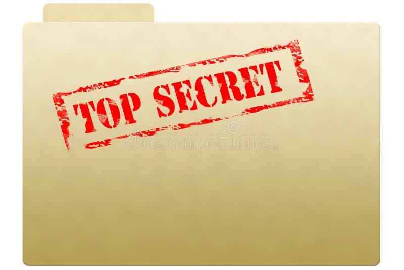 Geheime documentomslag stock foto's
