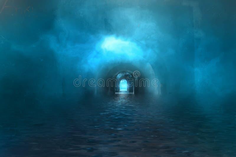 Geheime kamer royalty-vrije illustratie