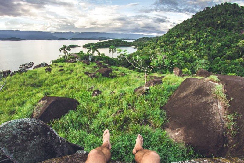 Geheime Stelle in Brasilien stockbild
