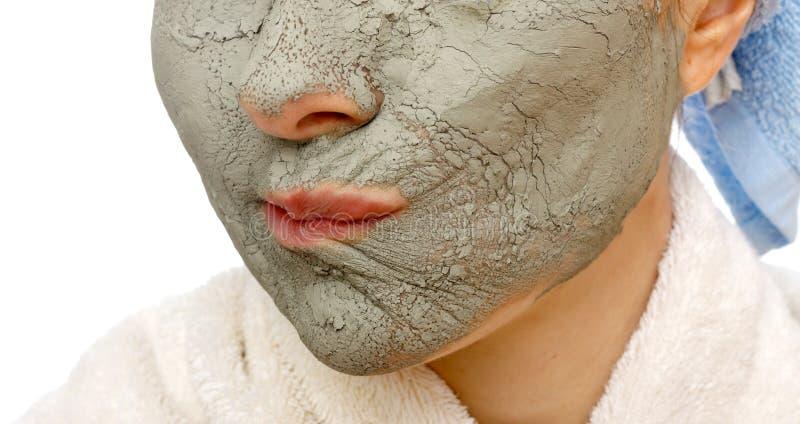 Geheimen die van huid gezichtsmasker stabiliseren royalty-vrije stock fotografie