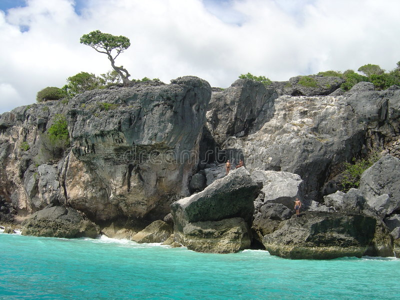Geheimer Strand Atauro Timor lizenzfreies stockbild