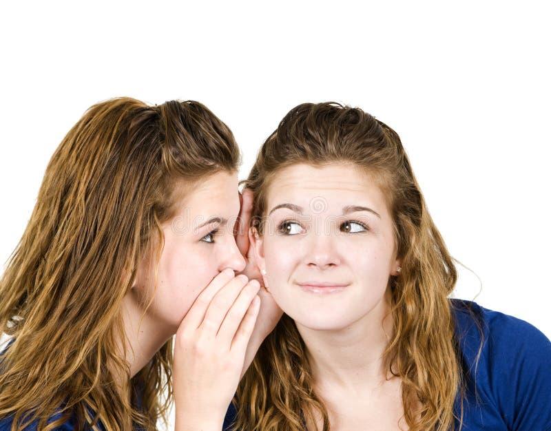 Download Geheimes Mädchen stockbild. Bild von haut, glücklich, lächeln - 9080597