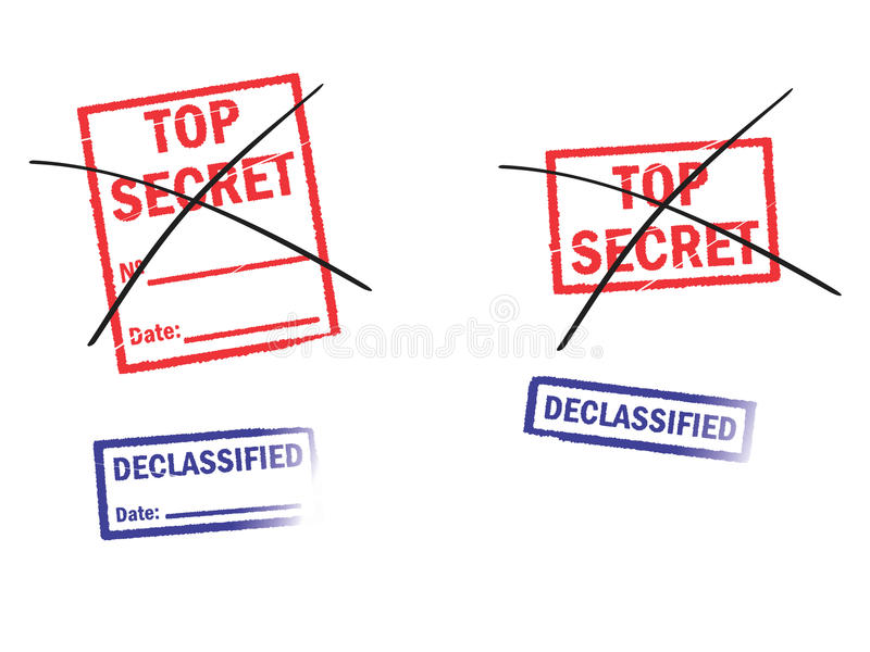 Geheimnis stock abbildung