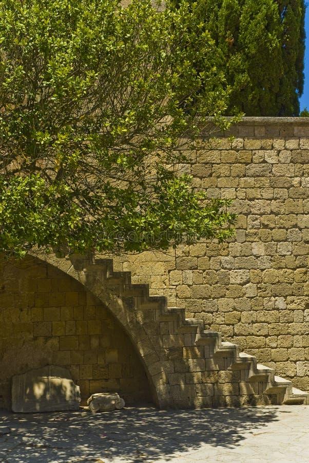 Geheimnisvolle Treppen stockbilder