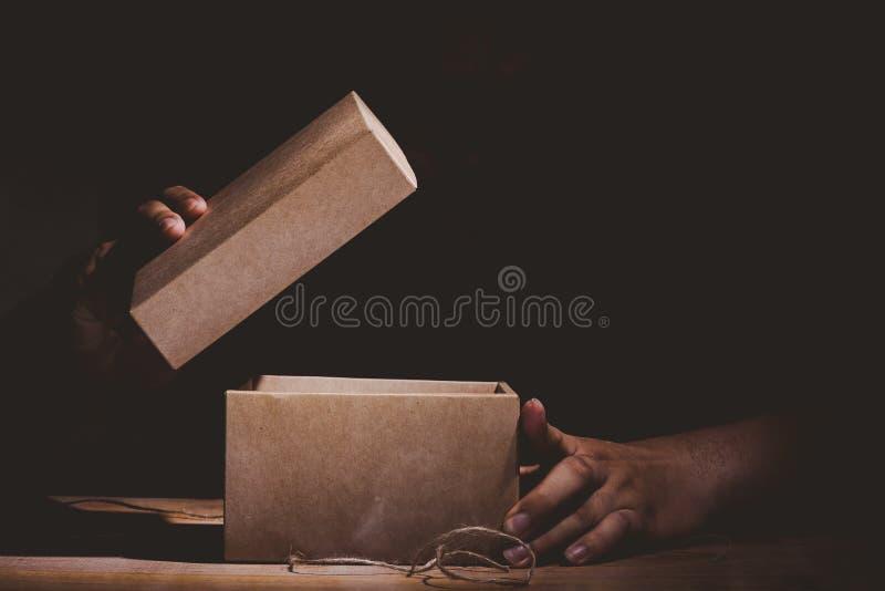 Geheimzinnige doos stock foto