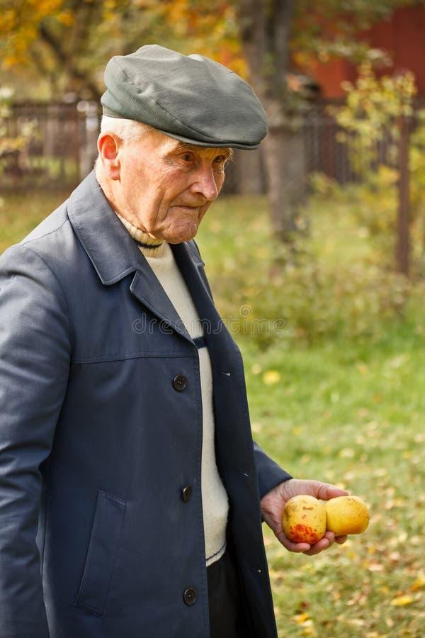 Download Gehen des alten Mannes stockbild. Bild von gealtert, mann - 27729825