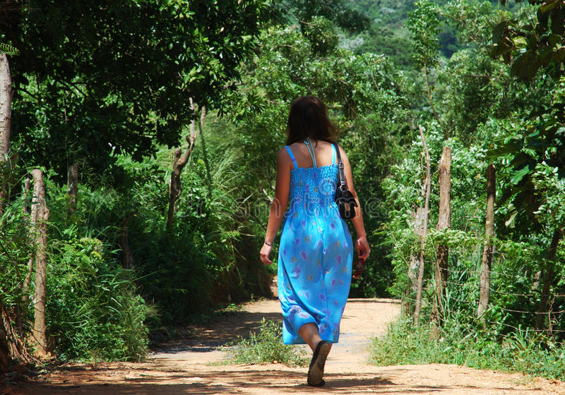 Gehen in Honduras lizenzfreie stockfotografie