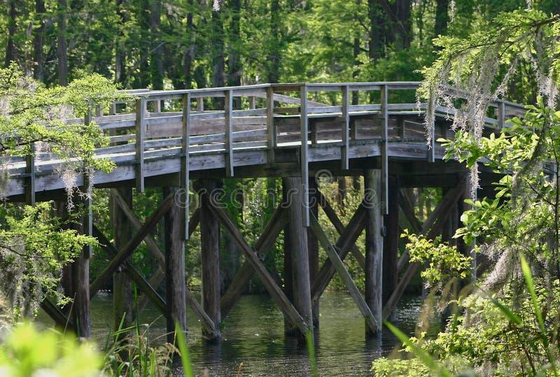 Gehende Brücke stockfotos