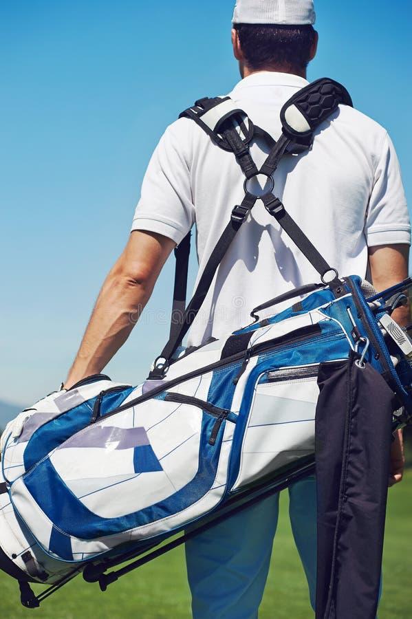 Gehender Golfplatz lizenzfreie stockfotos