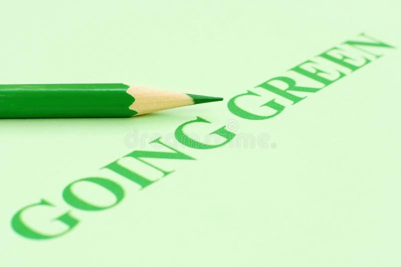 Gehendes Grün lizenzfreies stockbild
