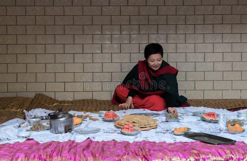 Geheugen van Xinjiang stock fotografie