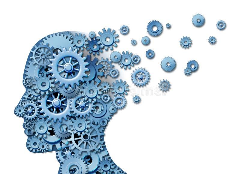 Gehirn-Verlust stock abbildung