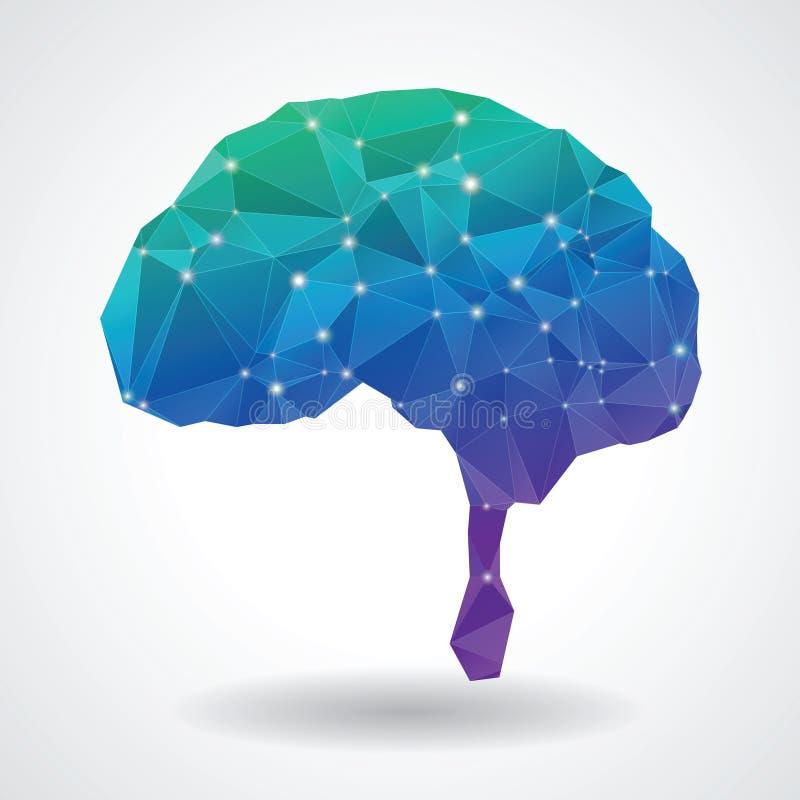 Gehirnkommunikation lizenzfreie stockfotos