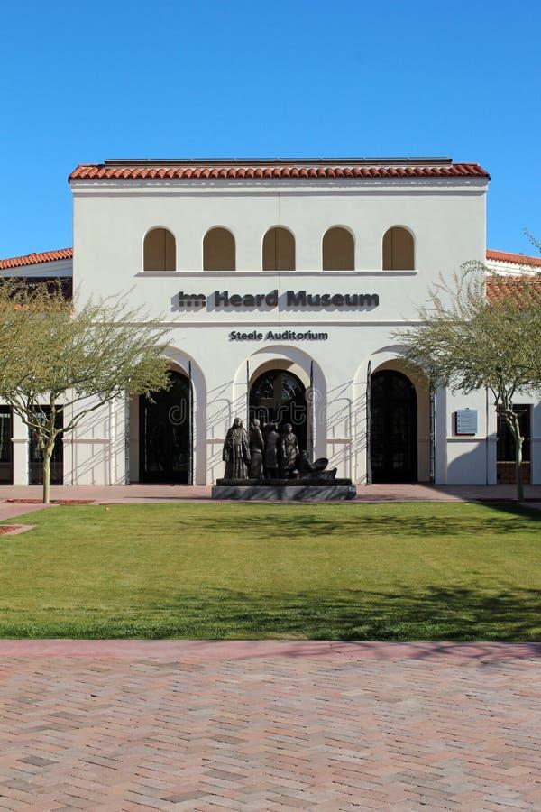 Gehoord Museum in Phoenix, Arizona royalty-vrije stock afbeeldingen