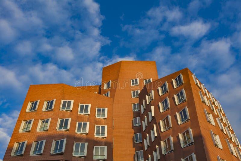 Gehry budynki Dusseldorf schronienie fotografia royalty free