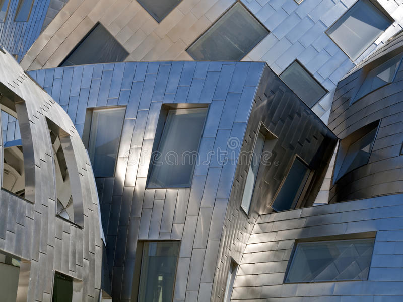 Gehry Las Vegas fotografía de archivo libre de regalías