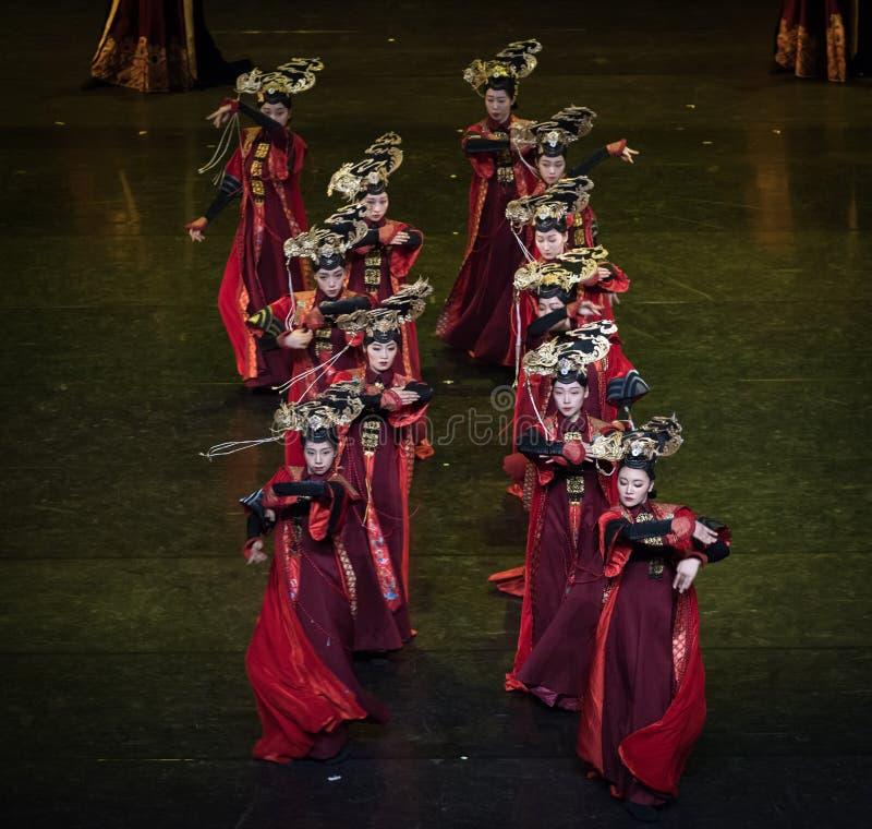 Geiger 9-κλασσικός χορός δικαστηρίου χορού στοκ εικόνες