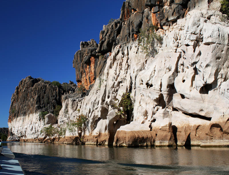 Geikie Gorge, Kimberley stock photo