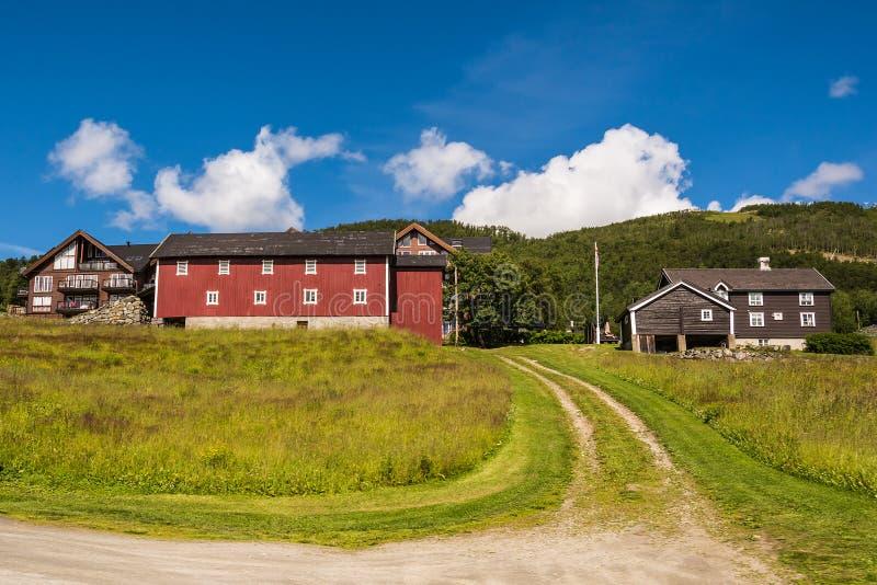 Geilo dalla Norvegia immagini stock libere da diritti