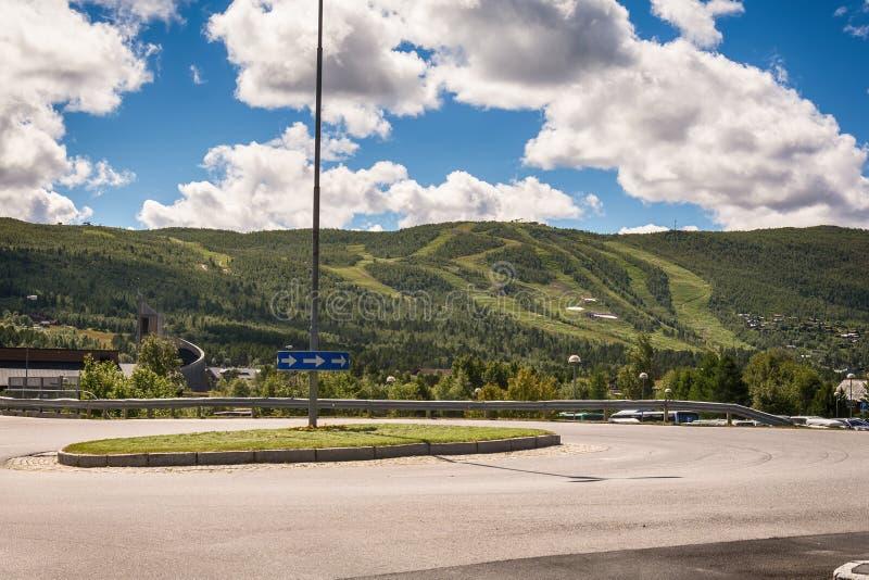 Geilo de Norvège photo libre de droits
