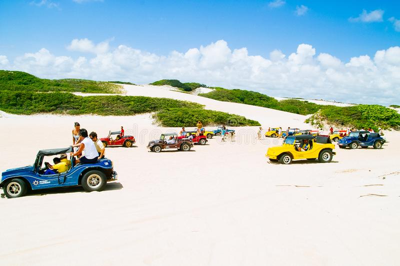 Dune Buggies stock photography