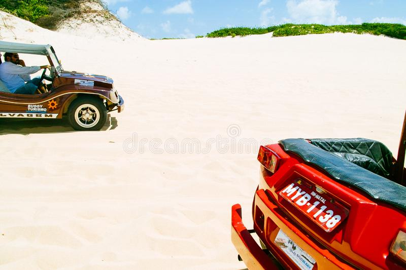 Dune Buggies royalty free stock image