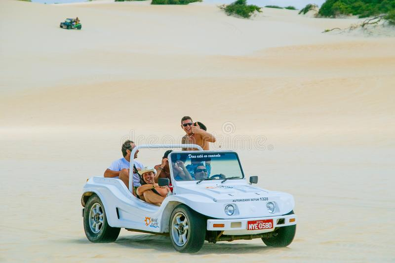 Dune Buggies royalty free stock photography