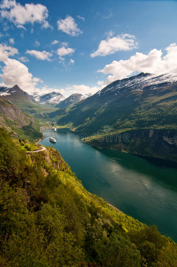 Free Geiranger Fjord (Norway) Stock Photography - 15041972