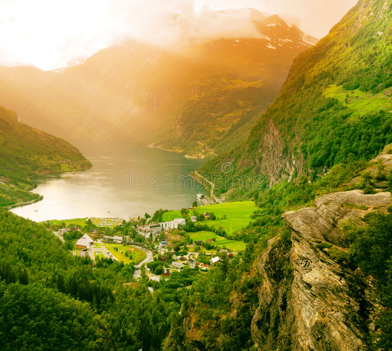 Free Geiranger Fjord, Norway Stock Images - 5685954