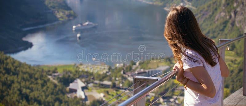 Geirangerfjord στη Νορβηγία στοκ φωτογραφία με δικαίωμα ελεύθερης χρήσης