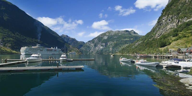 geirangerfjord στοκ φωτογραφία με δικαίωμα ελεύθερης χρήσης
