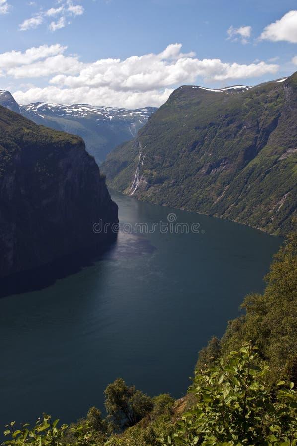 geirangerfjord стоковые фото
